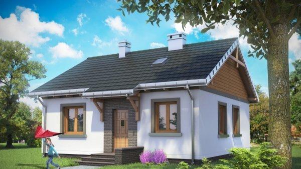 Проект дома Чижик (E-104)