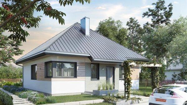 Проект дома Фиолек (E-1250)