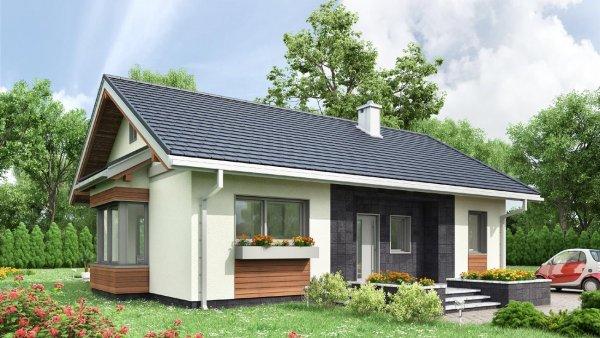 Проект дома Агата (E-1318)