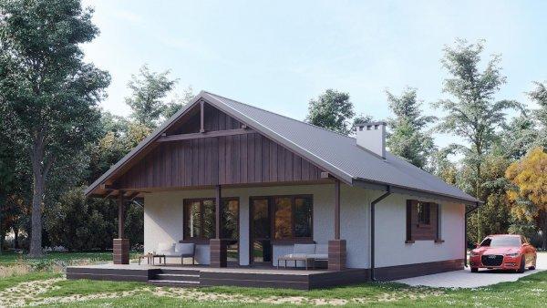 Проект дома Баба Яга (E-46)