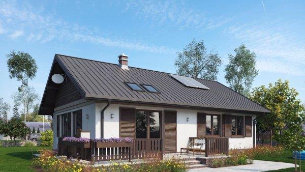 Проект дома Моджик Еко (E-800)