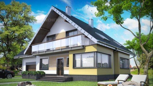 Проект дома Карина (E-1230)