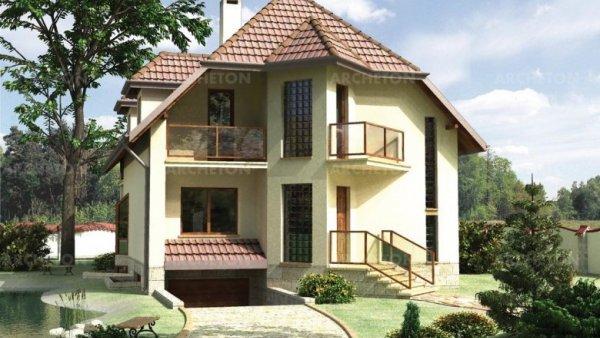 Проект дома Акация (E-10)
