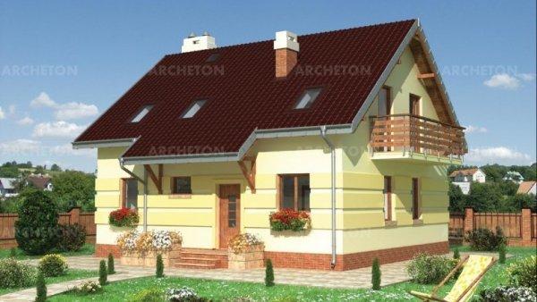 Проект дома Андрей - 2 (E-705)
