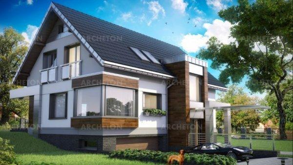 Проект дома Агатон (E-1205)