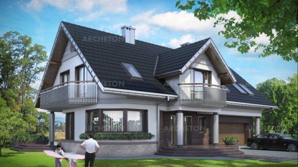 Проект дома Гелиотроп Макс (E-1229)