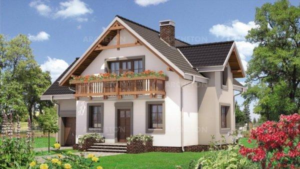 Проект дома Колиба Грота (E-1047)