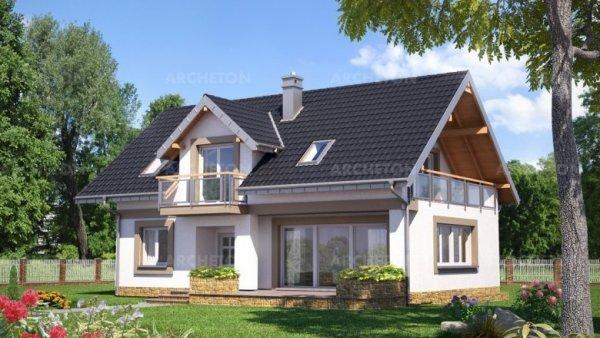 Проект дома Открытка (E-1081)