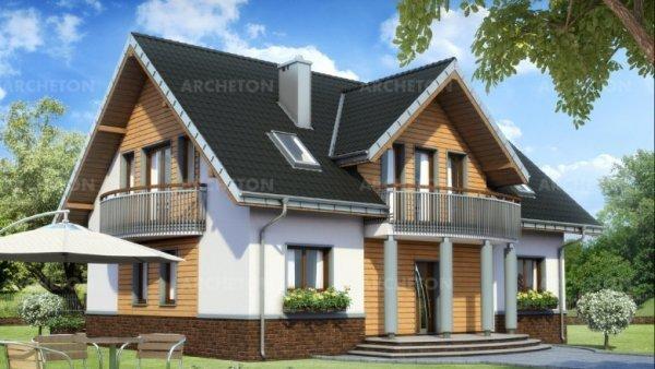 Проект дома Акорд Нео (E-1132)
