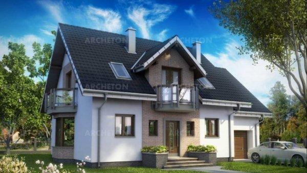 Проект дома Алёна Эко (E-1167)