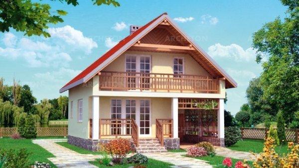 Проект дома Ландыш (E-300)