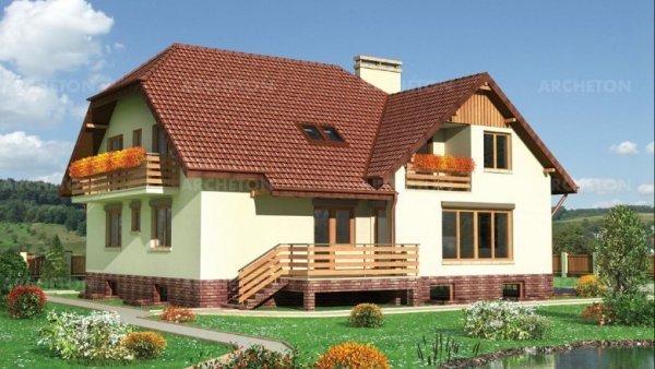 Проект дома Барбарис (E-58)