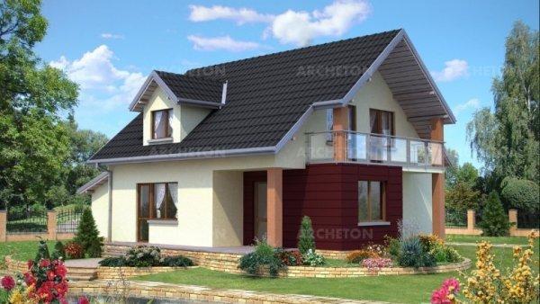 Проект дома Агат (E-7)