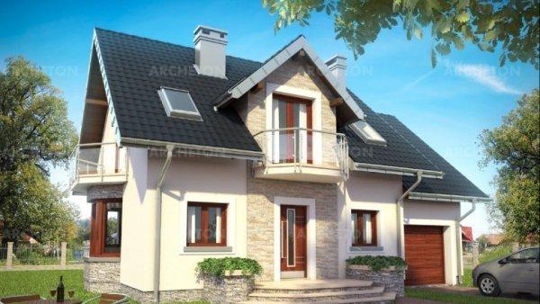 Проект дома Алёна Прима (E-1123)