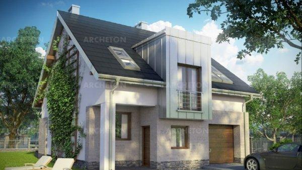 Проект дома Цирконий (E-1131)