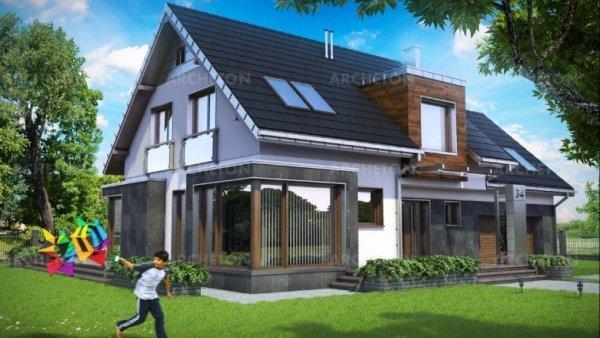 Проект дома Соларис (E-1195)