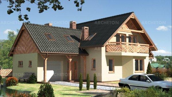 Проект дома Олень (E-219)