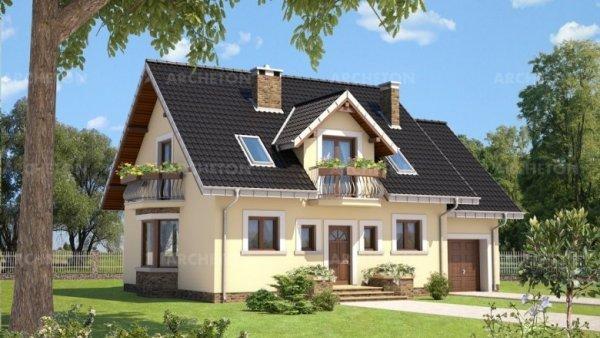 Проект дома Алёна (E-1057)