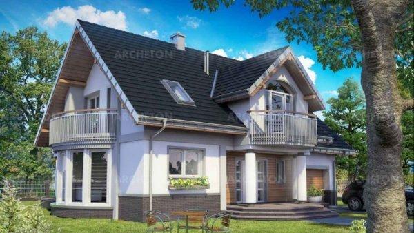 Проект дома Гелиодор Ас Г1 (E-1171)