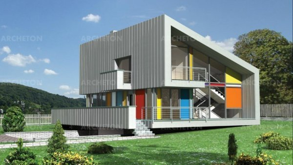 Проект дома Амо (E-741)