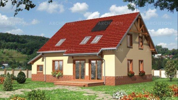 Проект дома Сойка Эко (E-794)