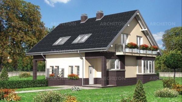 Проект дома Безе Дуо (E-801)