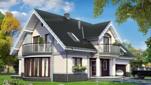 Проект дома Гелиодор Ас (E-1152)