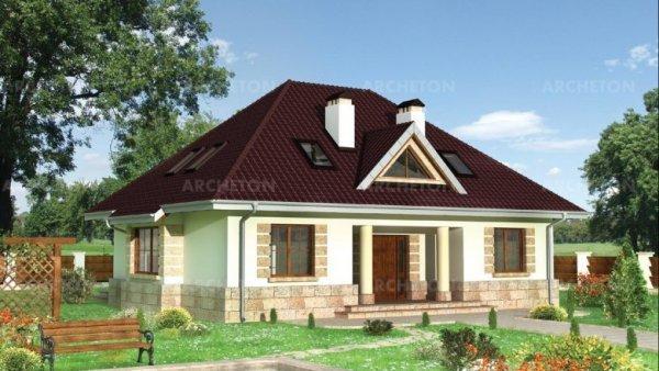 Проект дома Амадей (E-707)