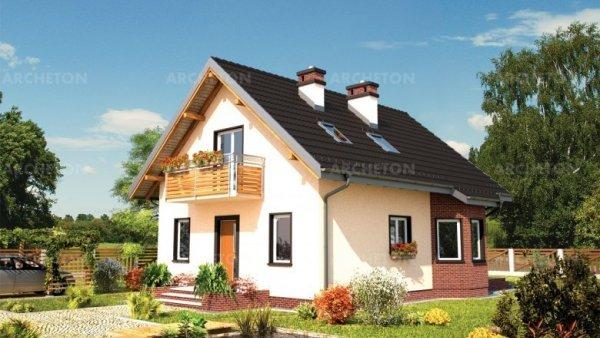 Проект дома Альдона Мини (E-889)