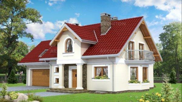 Проект дома Сосна Поло Г2 (E-1003)