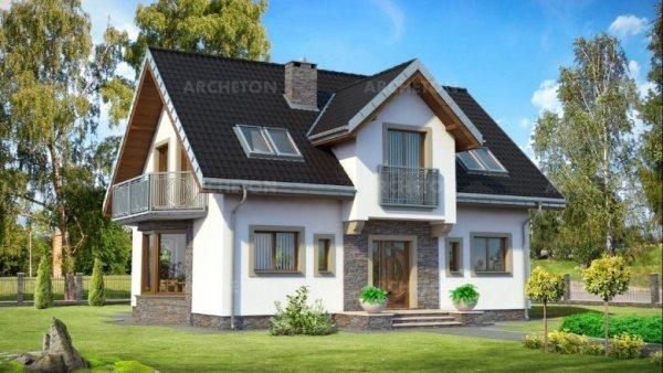 Проект дома Титус (E-1088)