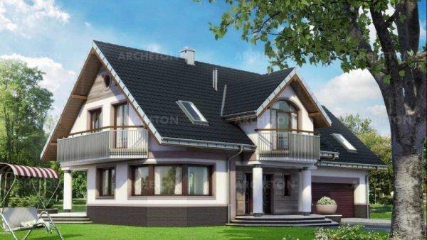 Проект дома Гелиотроп (E-1172)