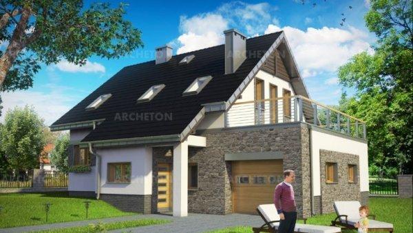 Проект дома Скарабей Прима (E-1183)