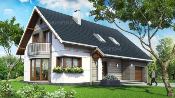 Проект дома Альба (E-1197)