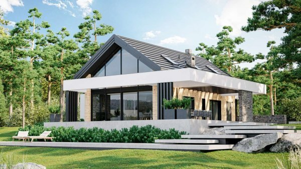 Проект дома Зафир
